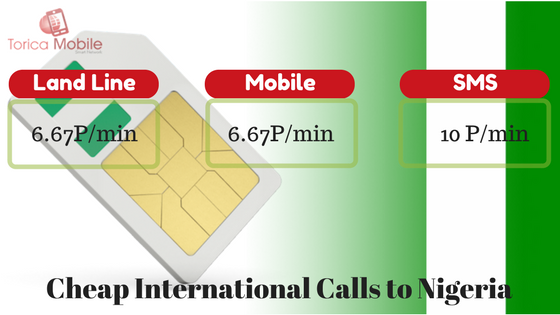 cheap international calls to Nigeria